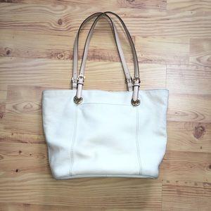 Michael Kors   Large White Tote Bag